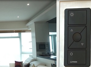 Lutron 感應燈控 - 豪宅應用篇