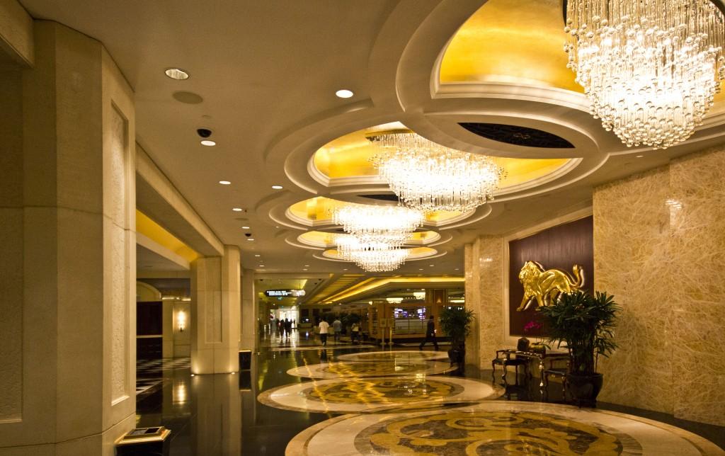 MGM hotel lighting